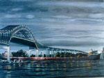 Edward L. Ryerson Under the Blatnik Bridge
